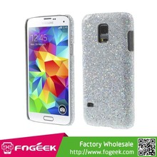 Glittery Sequins Leather Coated Hard Back Cover for Samsung Galaxy S5 Mini SM-G800