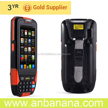 "Easy to find 4"" Android gprs wifi 1d handheld pda with gps fix channel 48 use in voyage"