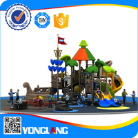 2015 hot selling children pirate ship used outdoor playground equipment for sale