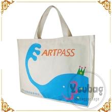 wholesale recycled promotional custom plain shopping cotton bag