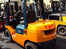 cheaper price used toyota forklift 2.5ton