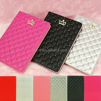 Luxury Crown Bling Leather Stand Case Cover For IPad Mini/2/3/4/5th/Air 2