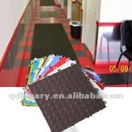 Design professional polyurethane outdoor sport flooring