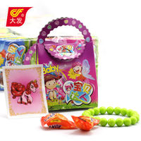 super baby girls box toy candy with nice sticker