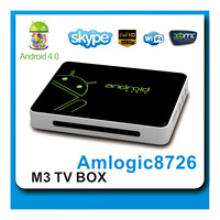 Shiningworth the original OEM/ODM manufacturer of Amlogic M3 android tv box with DVB-T2 receiver
