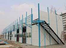 Chinese manufacturer low cost bunk house plans