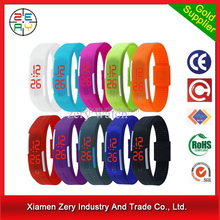 R0775 led light fashion digital watch, led watch silicon band