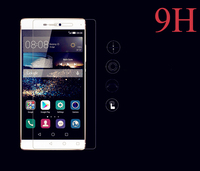 Manufacturers anti-scratch 9h 0.33mm 2.5D Tempered glass protective film For huawei P8