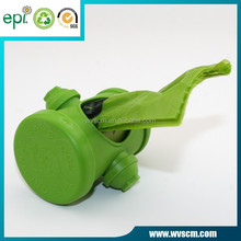 "eco friendly plastic roll dog poop bag rose scented 15pcs per roll 15mic *9""*13"""