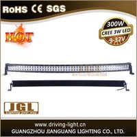 New item JGL Factory price waterproof 300w 4x4 led driving light 12 volt led light bar