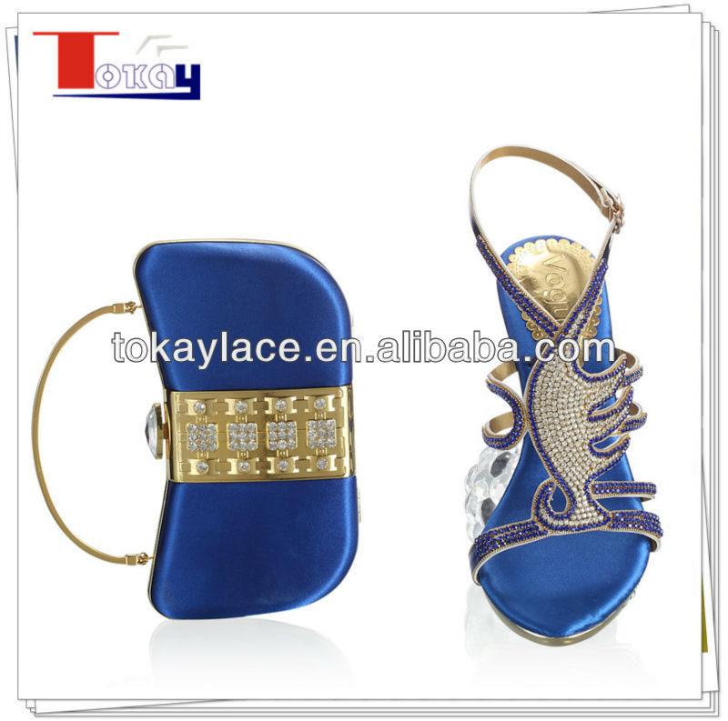 Bolsa E Sapatos Para Casamento : Moda azul royal casamento sapatos italianos e bolsas para