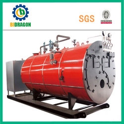 gas or oil fired boiler used in residental and industry
