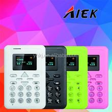 Hot card phone ultra thin new slim mobile phone