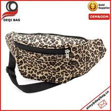Cheap Price Satin Waist Bag Leopard Sexy Waist Bag Promotion