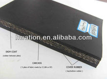 China made ep cut edge rubber conveyor belts/belting rubber