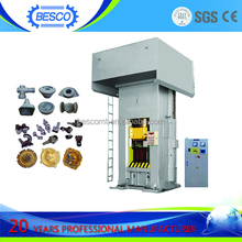 25000 ton electric screw forging machine specific for adjusting pad iron forming CE ISO approved
