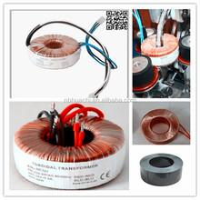 YUYAO manufacture transformer toroidal transformer 220v 24v power supply