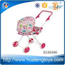 h189486 di alta qualità nuovo giocattoli bambini che giocano divertimento baby doll passeggino ruote per la vendita