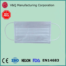 Beauty Nail Salon 3 ply dental products of white face mask