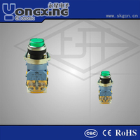 22mm industrial automation mechanical gas push button ignition switch