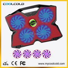 Best notebook partner 4 big fans with strong cooling notebook cooler pad
