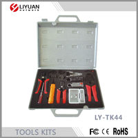 LY-TK44 Optical Cable Coaxial cable stripper(2-blade model) Tool Kits,network tool kit
