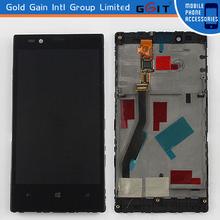 LCD de repuesto al por mayor de la pantalla táctil del digitizador y el Marco Asamblea para Lumia 720, Nokia LCD con Touch And Frame