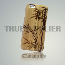 blank wood cover for iphone 6 100% wooden case