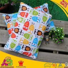 2015 newest design hot selling MOQ 50PCS SGS checked floral block printed sofa cushion covers