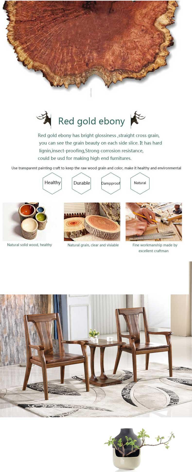 Europäischen stil wohnzimmer möbel solide rot gold ebenholz holz ...