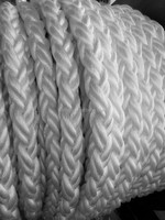 factory price 54 mm PP multifilament material 8 strand marine rope price