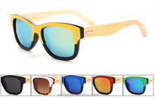 2015 wholesale unisex uv400 wooden eyewear fashionable bamboo legs eyeglasses polarized sunglasses with handmade bamboo temple
