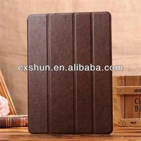 Hot Sale products in china cow grain flip case for ipad air 5