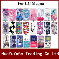 3D Pattern Flip Stand Leather Phone cases cover For LG Magna