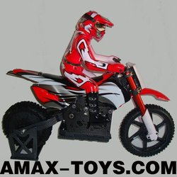 ec-7478eb rc electric motorcycle 1/4 remote control 2.4Ghz electric RTR brushed off-road motorcycle