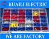 1230pcs Assorted Insulated Terminal Assortment Kit Electrical Terminator