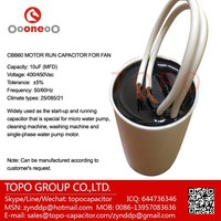white plastic round case cbb60 capacitor 70uf 250v
