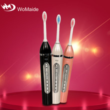 Waterproof IPX7 Snap-on brush head designed funny unique toothbrush holder with cover