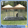 Larger outdoor exercise pet cage / Dog carrier/Durable and Cheap dog run/pet cage/ pet house/ dog crate with Spacious room