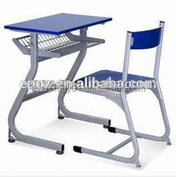 Classroom Furniture Plywood Middle School Student Desk and Chair
