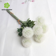 Wholesale decorative artificial flower ball white branches