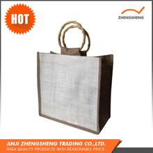 Utility OEM Printed Unique Jute Hessian Cloth Bags Burlap