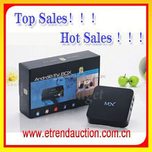 2015 Factory Newest AML8726 Dual Core 1G ram ,8g rom Android Smart TV Box with private mould case