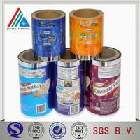 Vacuum Metalizd Food Package Film High Barrier Metallized PET Film printing laminted Metalized Polyester Film