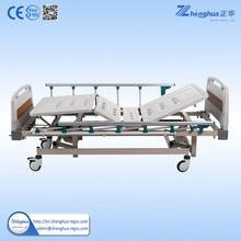 aluminum foldable side rail hospital patient bed