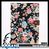 Professional flower pattern with hide pocket rugged stand case for ipad air2