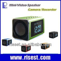 Multifunctional Large LCD Screen Digital Camera with Clock for Surveillance with 940nm Night Vision with Speaker MP3 MP4 MVS01