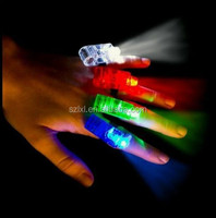 light up toys led finger rings flashlight Torches Birthday party