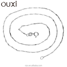 OUXI New design italian sterling silver chain Y40001