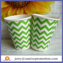 Wholesale factory price custom recycled wax paper cups